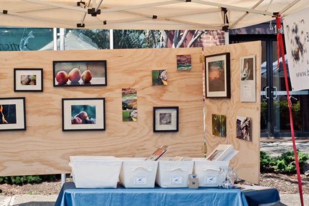 Art + Wine Fusion booth 2011